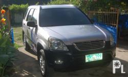 Description Make: Honda Model: CR-V Year: 2003 Type of