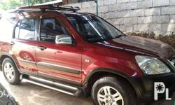 Honda CRV 2003 Clean Legal Papers Manual Transmission