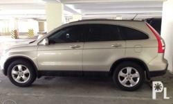 Honda CRV 2008 model 2.0 engine First owner Automatic
