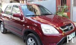 Honda CRV 2nd Gen 2002 � Top Condition Manual