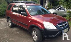 honda crv 2002, acquired 2003 new tires leather seat