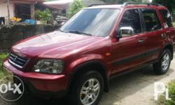 HONDA CRV Manual Transmission 4x4 RUSH SALE!