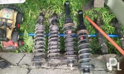 1) pics 1-4 Set of good cond stock shocks frnt / rear