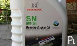 Honda engine oil for gasoline fully synthetic 4 liters