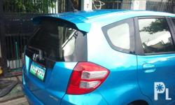 Deskripsiyon Honda Jazz 2009 and up Fiberglass Spoiler