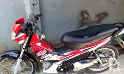 Honda Motorcycle Model: XRM RS 125cc Color: Red Engine: