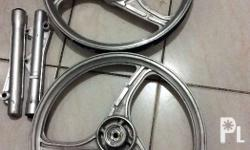 Honda motorcycle mags with bearings in good condition.