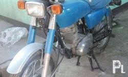 honda tmx 155 contact point 1982, repainted, personnal