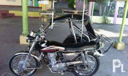 Hondatmx155 with sidecar,condition and stainless