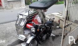 Honda tmx 155 with pure stainless sidecar. good
