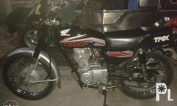 2013mdl honda tmx almost brand new with complete legal