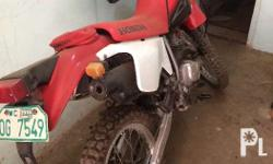 Honda XR200 model 2005.. Standard all part and