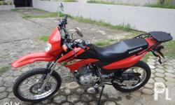 Honda XR 125 CC 8000 Km only. The motorbike is in great