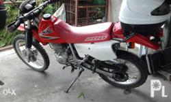 Rush sale honda xr 200. Just call or txt my number if