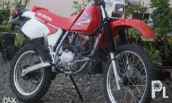 Honda XR 200 Model 2013 stock engine strong engine text