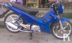Xrm 110 -2006 model - pipe -blue -mags -lowered -31k