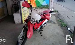 Honda Xrm 125 model 2010 Color white and red In good