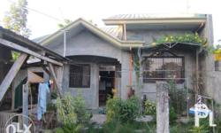 Lot area 200 sqms House floor area 100sqms Located at