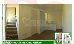 HOUSE AND LOT FOR SALE 2 bedroom CORNER UNIT complete