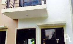 This is a newly constructed two storey townhouse unit