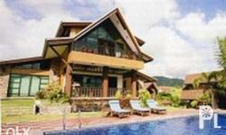House in Tagaytay Highlands grandly ready to occupy w/
