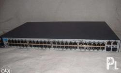 The HP 2530 Switches Series provides security,