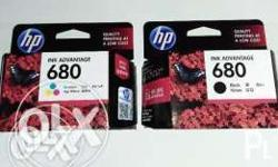 Bnew Hp 680 Black Only 3pcs Remain txt and kol