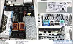 server - HP DL 380 G4, 4cores xeon 3.4ghz, 4gb ddr2