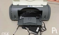 HP Printer deskjet D1560 No Ink no usb cable