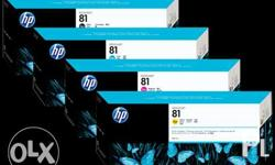 HP81 for HP 5500 - PhP6,000.00 HP705 for HP 5100 -