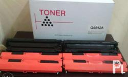 We offer Brand New Re-manufactured Toner Cartridges