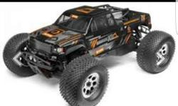 Monster rc.1/8 scale gasoline powered rc.order