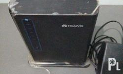 I'm selling this item for Php 8,500 HUAWEI LTE CPE