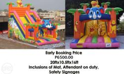 Promo P6500.00 only Inflatable Slides Animals we have