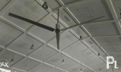 mako hvls fan geared type and direct drive direct