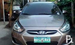 Hyundai Accent 2012 model Manual All original 90percent