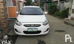 Hyundai accent cvvt gas matic 2011 top of the line w/
