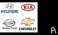 We are selling all kind of The HYUNDAI & KIA 2nd hand
