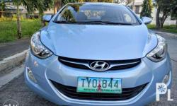Hyundai Make Elantra Model 2011 Year 45,000 km mileage