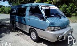 For sale: Hyundai H100 Dolphin. Diesel D4BF engine.