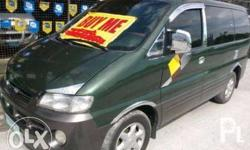 Rush sale!!! Hyundai Starex 2008 -first owned -Manual