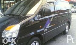 Hyundai starex crdi matic diesel. All power and local