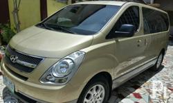 hyundai starex gold top of the line davao plate with