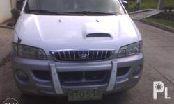FOR SALE: HYUNDAI STAREX SVX 2001 Model 2.5 Turbo