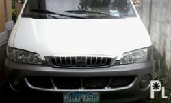 Hyundai Starex Van 2006 model Dual cooled Aircon Tinted