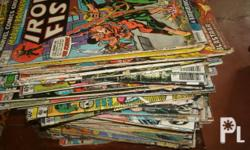 i'm selling my 100 pcs COMIC DC 1960's-80's