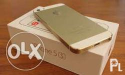 I phone 5s 16gb 4 month. Apply warrnty brand new only