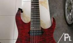 Selling used Ibanez rg927qmz Premium 7 strings with