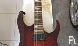 Selling used ibanez rgr320ex limited edition red arctic