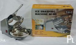 Follow us on fb! ANJ online shop Repriced! Ice crusher